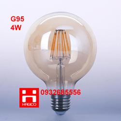 BÓNG ĐÈN LED EDISON G95 4W